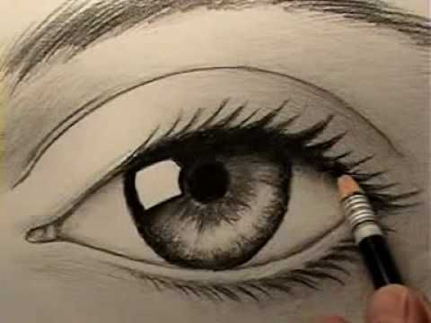 How to Draw Eyes: 25 Tutorials, Step-by-Steps, How-To's and Reference Photos on How to Draw Human Eyes