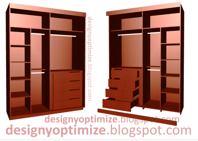 Diseño De Muebles Madera: Closet - Armario Puertas Corredizas / Con ...