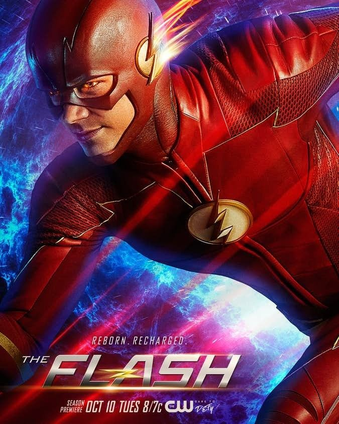 The Flash Season 4 Official Poster The Flash Poster Flash Season 4 The Flash Season 1