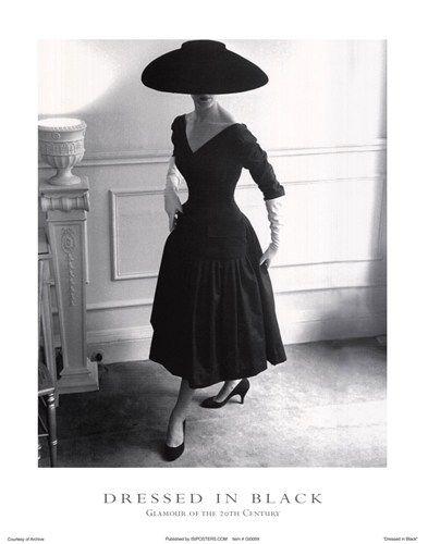 Classic Fashion Vintage Dresses Little Black Dress
