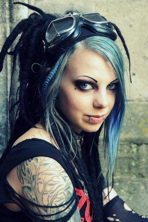 Porn sexy cyber goth girl daughter erotic