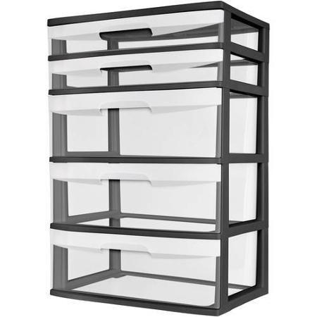 Home Plastic Storage Rolling Storage Storage Drawers