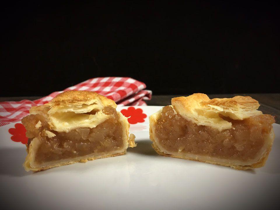 Saftige Apfel-Blätterteig-Muffins. Schnell und einfach.
