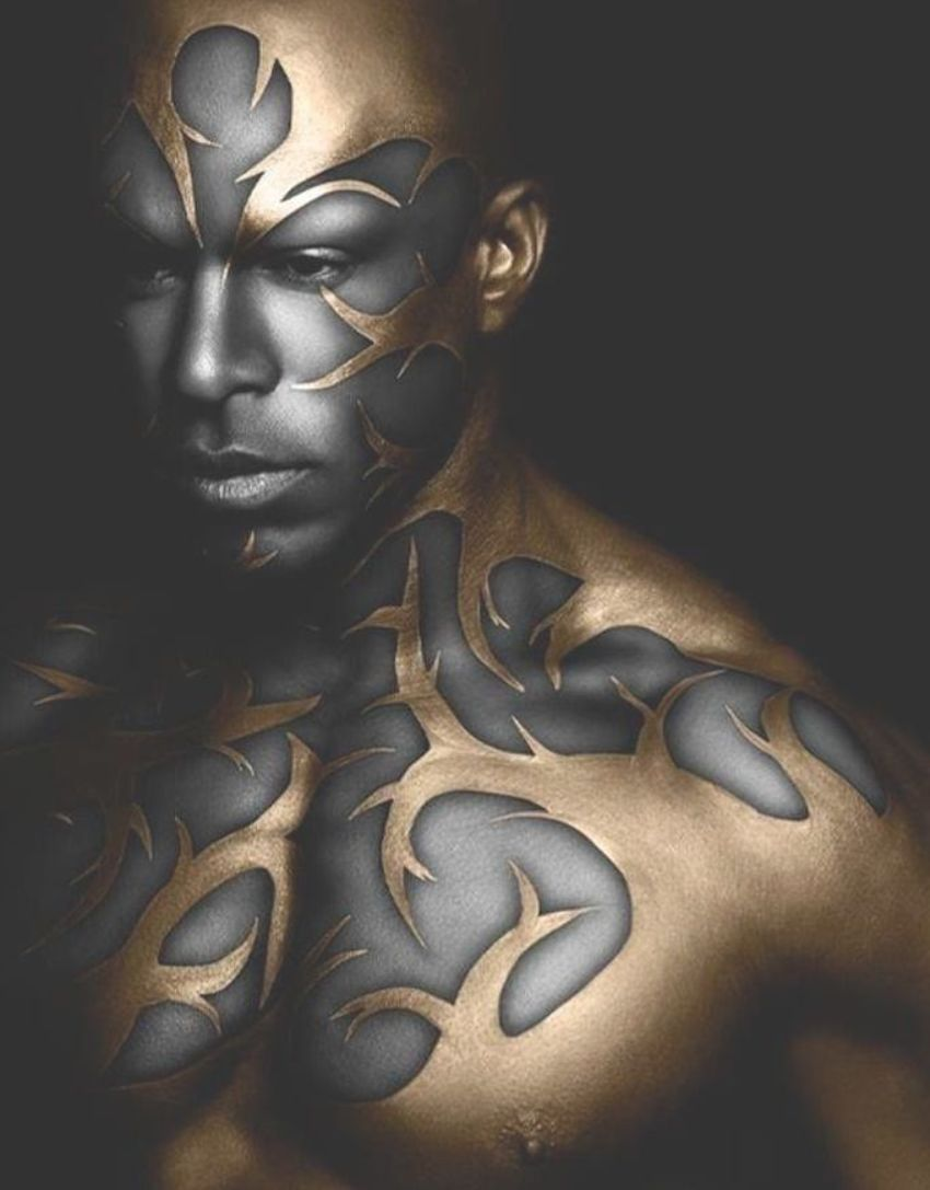 The Definition Of Afrofuturism Human Body Art Body Art Painting Body Art Tattoos