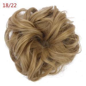 1 pieza de pelo sintético moño elástico Scrunchee Hairpiece Donunt Buns Hai – Regalos …