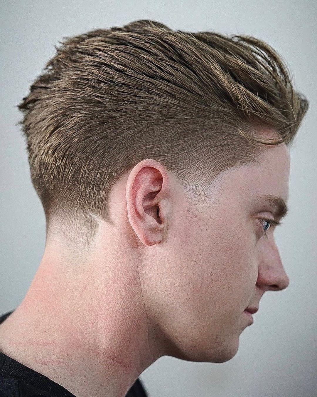 28+ Medium taper haircut men inspirations