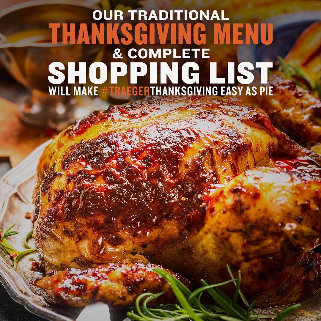 Thanksgiving Menu & Grocery List