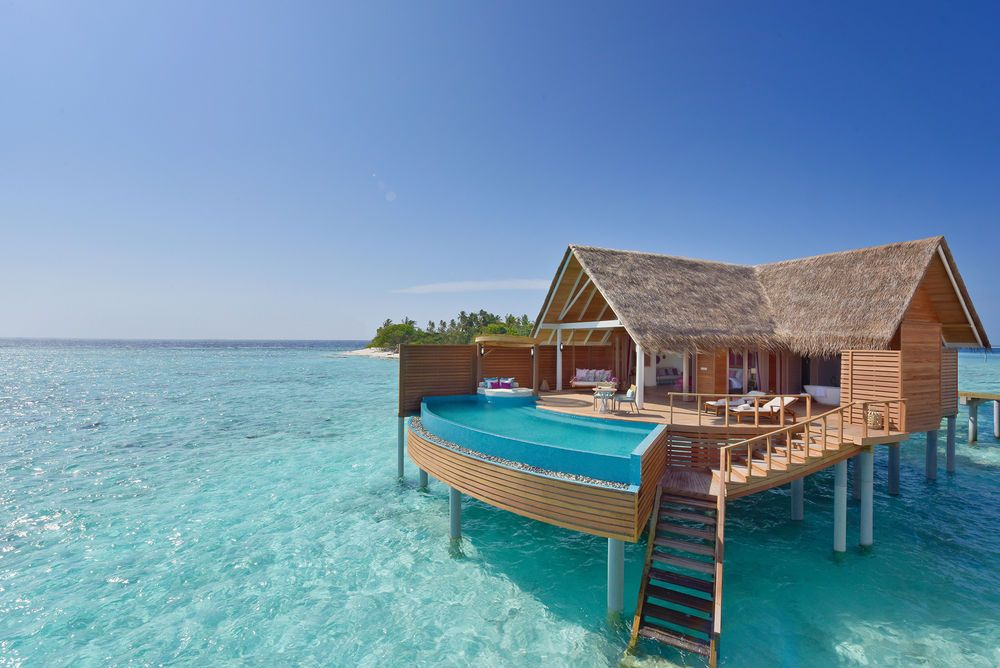 Milaidhoo island debuts overwater bungalows in the maldives maldives resorts overwater bungalows at milaidhoo island sciox Choice Image