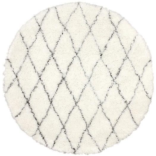 nuLOOM Moderna Ivory Moroccan Shag Area Rug