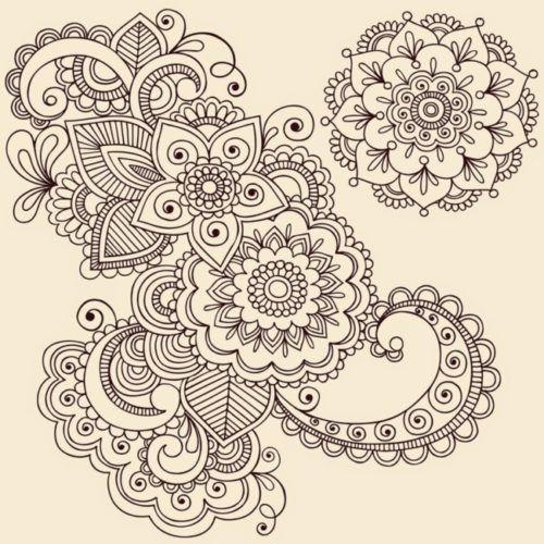 mandalas-originales-para-pintar-3 | Para diseñar tatoo | Pinterest ...