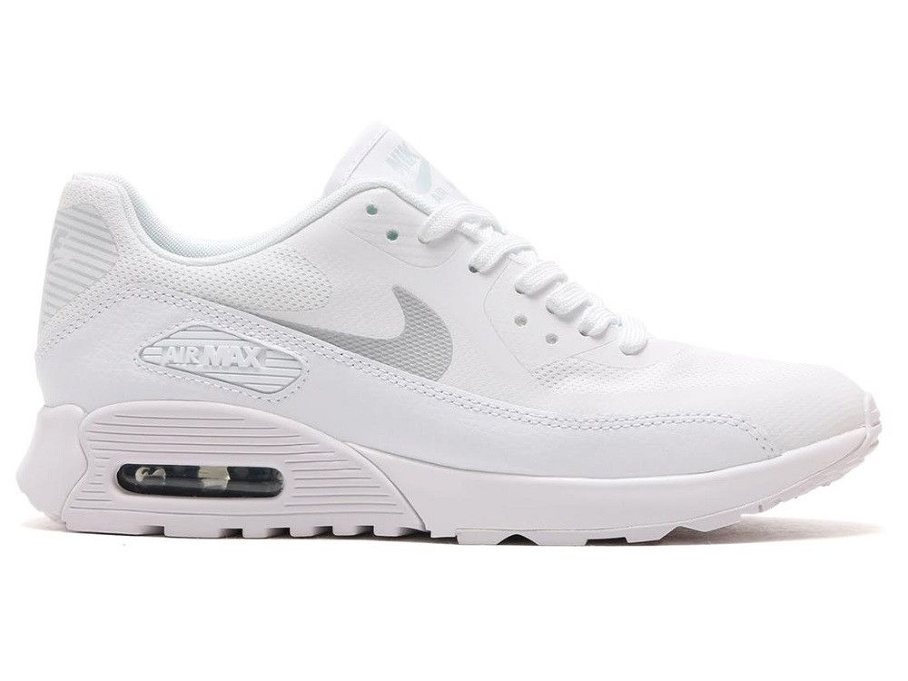 Nike Air Max 90 Ultra 2.0 Womens - White / Metallic Platinum