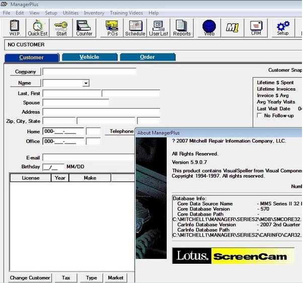 Mitchell Manager Software Mitchell Auto Repair Manuals Manager Plus - Auto shop invoice software