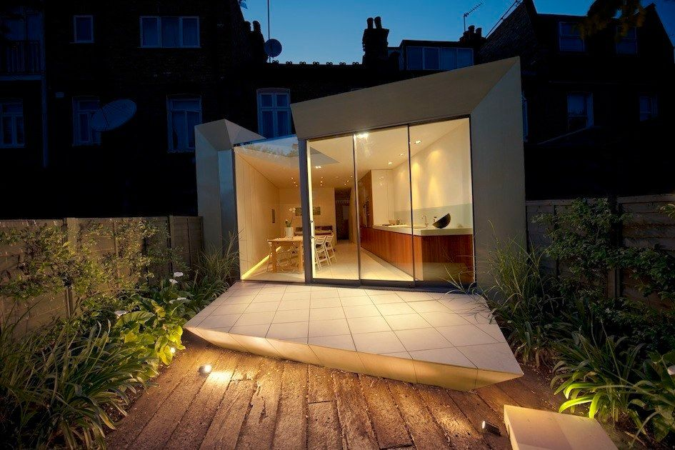 Modern And Very Stylish Edwardian Terrace House Extension ...