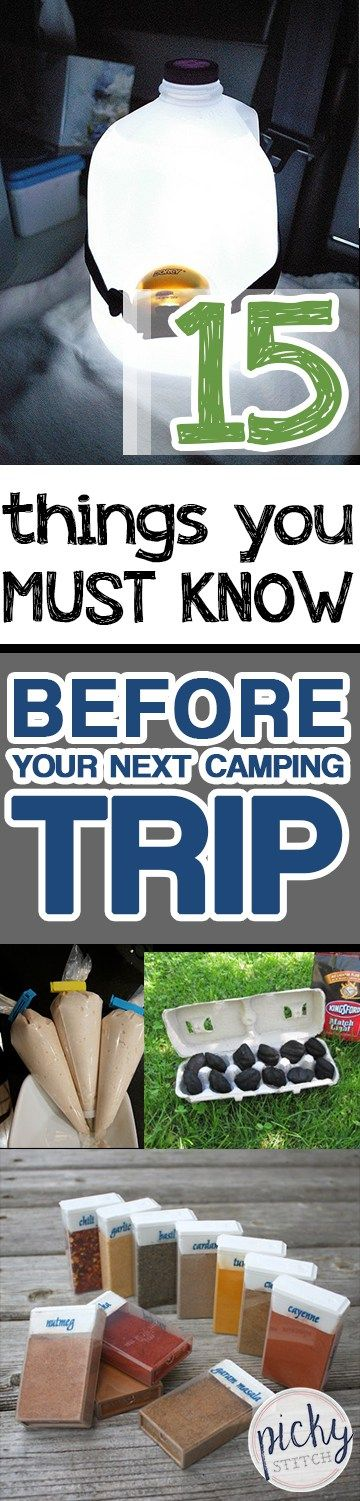 Photo of 15 Things You MUST KNOW Before Your Next Camping Trip • Picky Stitch