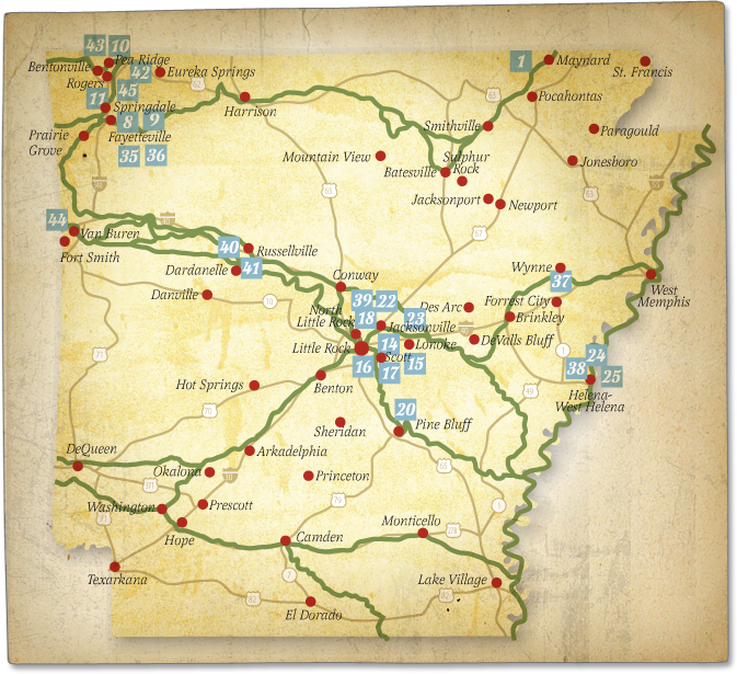 Arkansas Indian Tribes Map Trail of Tears places map. pictures of arkansas   Bing Images
