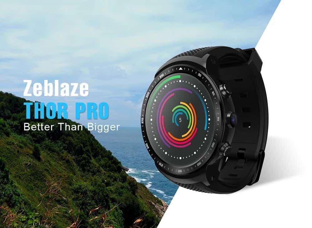 Preço top! 🔹 Zeblaze THOR PRO 1GB/16GB ⚠️ Por R268.51