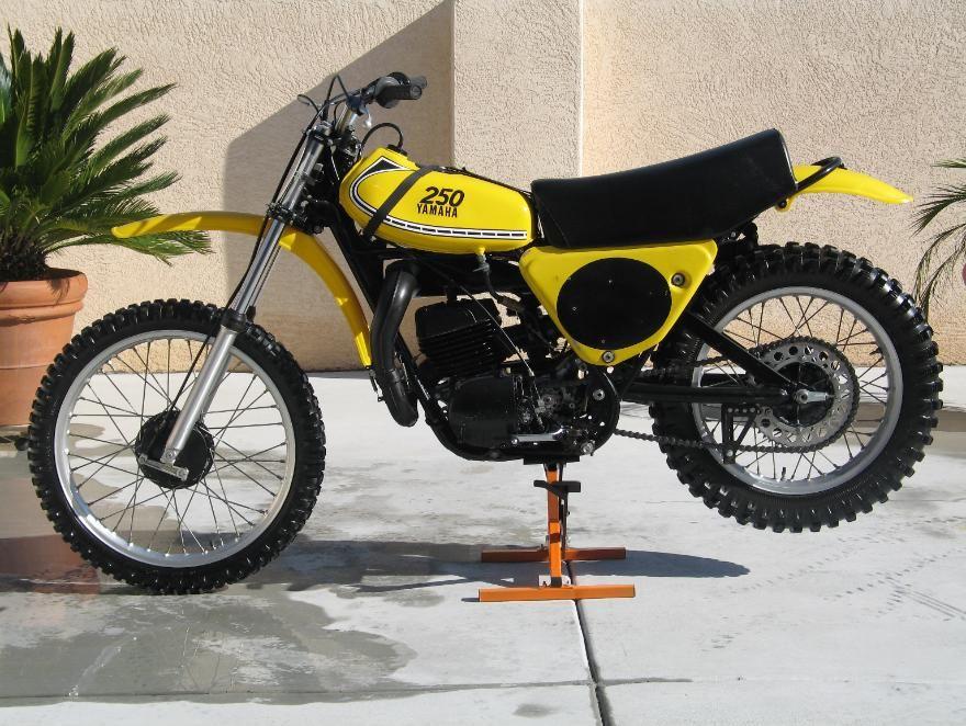 1975 Yamaha Yz250 Vintage Motocross Yamaha Dirt Bikes Yamaha