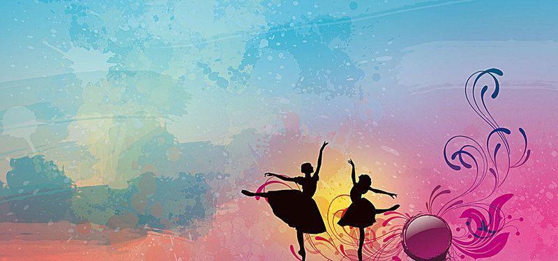 Creative Dance Background Dance Background Sketch Background Background