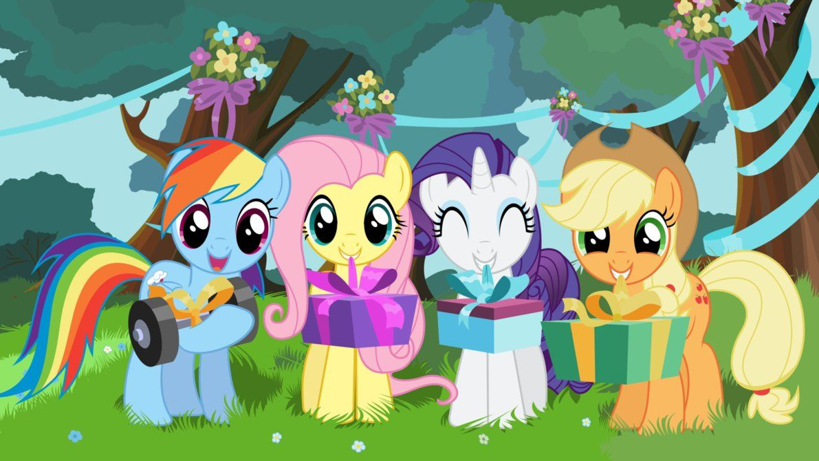 My Little Pony Happy Birthday Coloring Pages : Happy birthday ology my little pony trading post my little