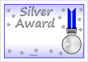 Editable Platinum Gold Silver And Bronze Award Certificates