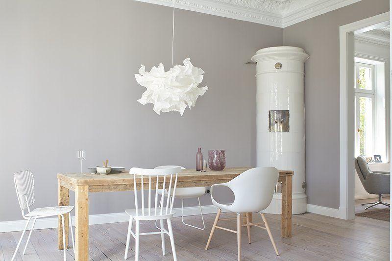 gem tliches esszimmer im scandi style inspiration k che essbereich wandfarbe alpina. Black Bedroom Furniture Sets. Home Design Ideas