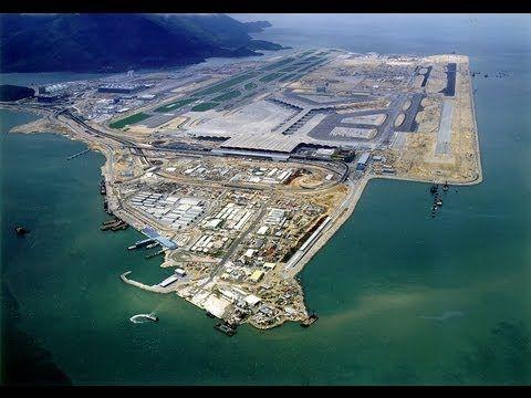 Tief hinab und hoch hinaus: Unterwassertunnel zum Hongkonger Flughafen geplant