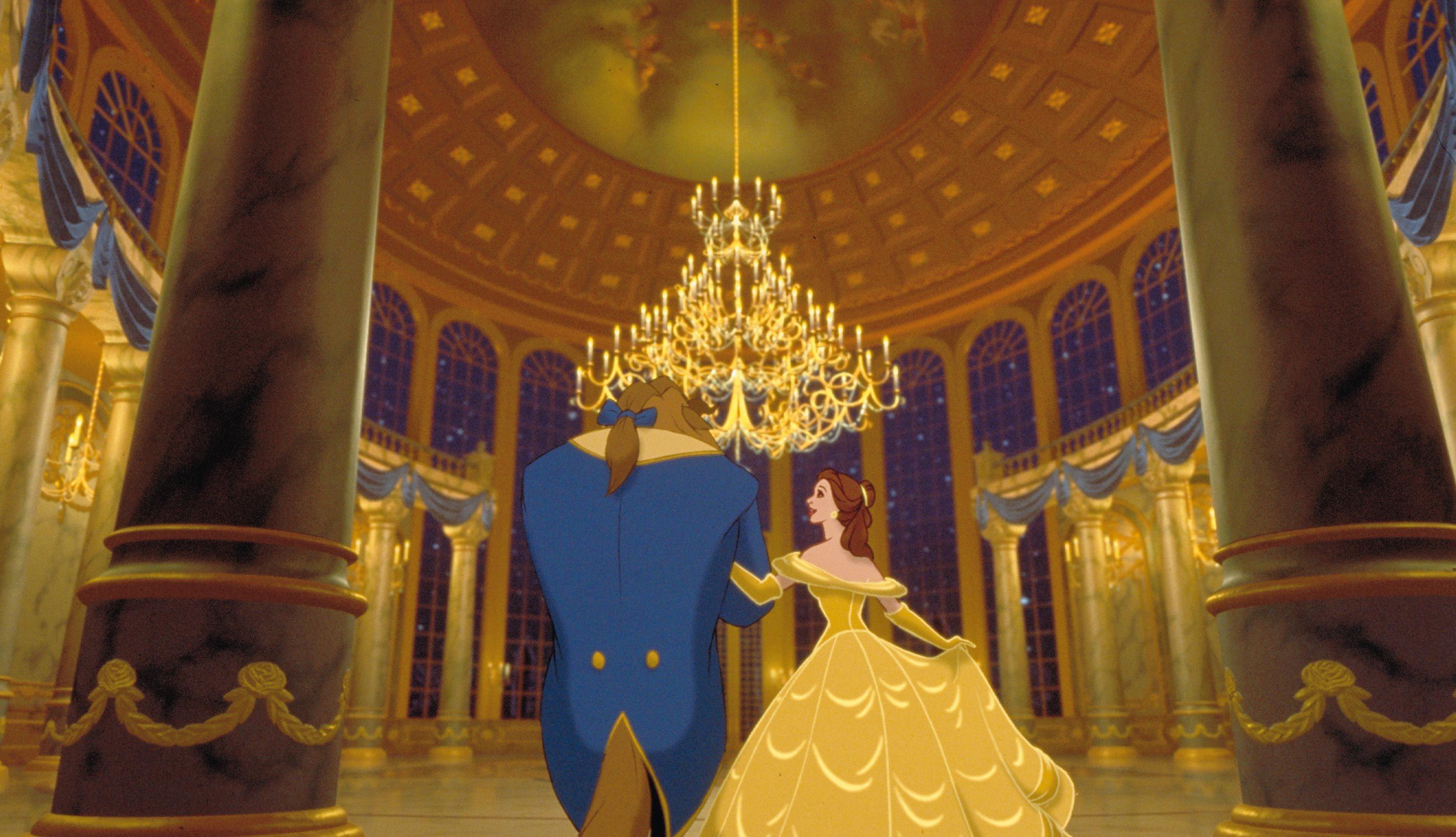 BELLE ET LA BETE - La Belle et la Bête est disponible en Blu-ray et DVD - © Disney  #Belle #LaBete