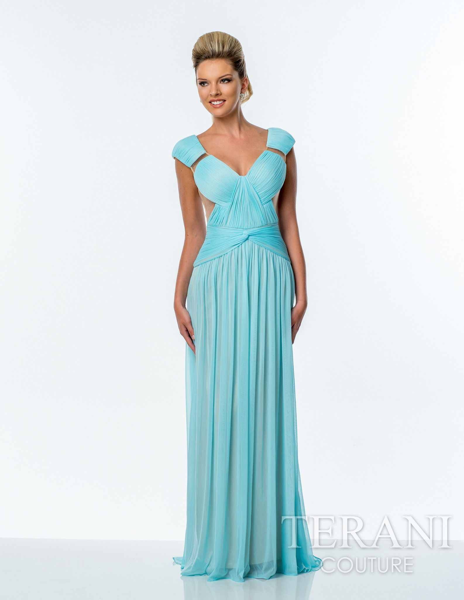 Terani 151P0045 | Long fancy dresses, Drop and Ships