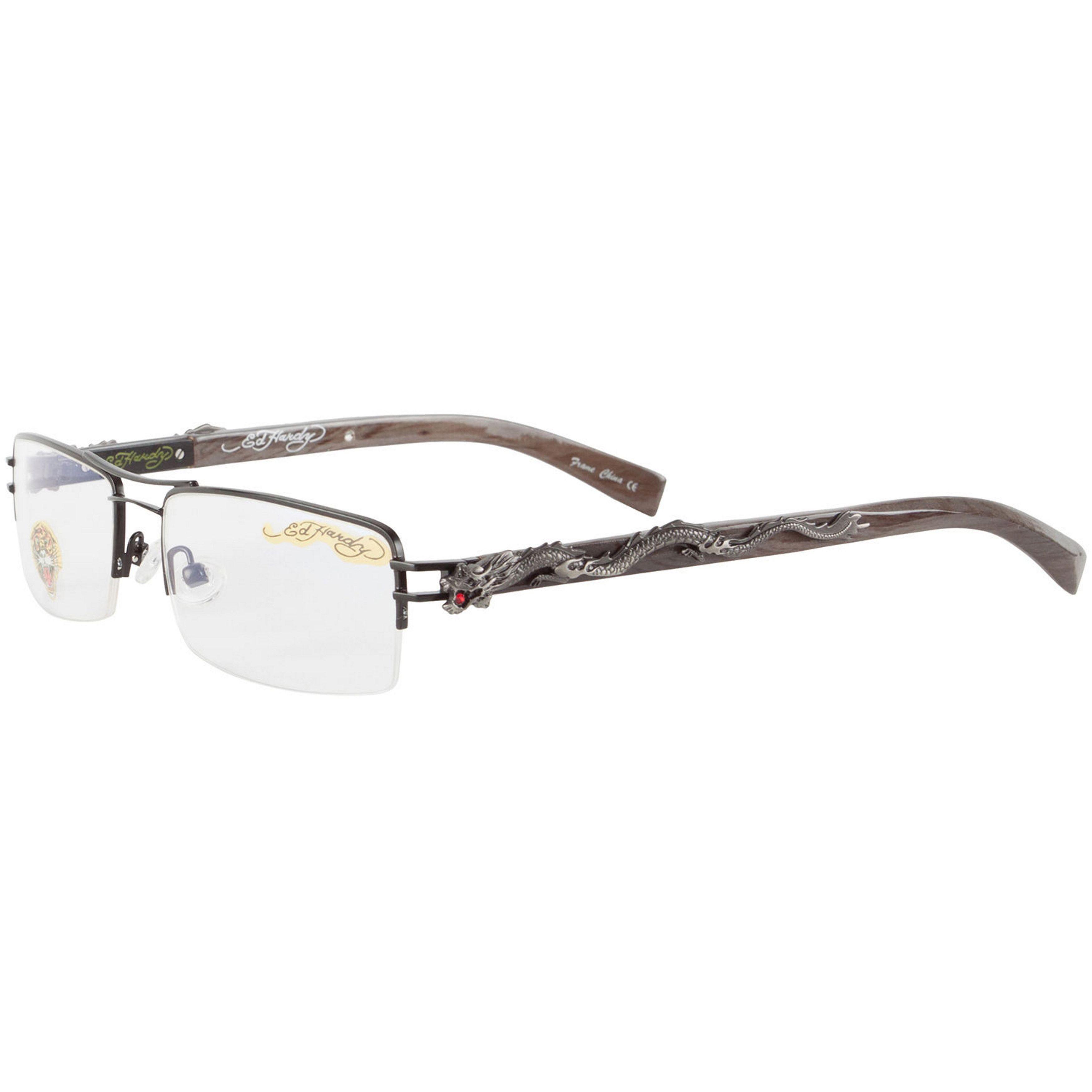 Ed Hardy EHO 707 Tattoo Ebony Eyeglasses | Products | Pinterest ...
