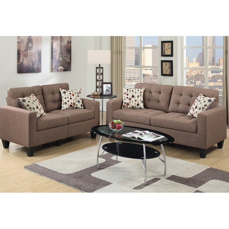 Prime Amia 2 Piece Living Room Set In 2019 Rental Sofa Ncnpc Chair Design For Home Ncnpcorg