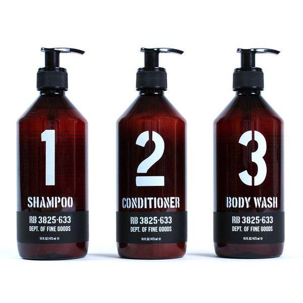 Rudy S 1 2 3 Bundle Cruelty Free Shampoo Conditioner Body Wash Shampoo Packaging Shampoo Shampoo Bottles