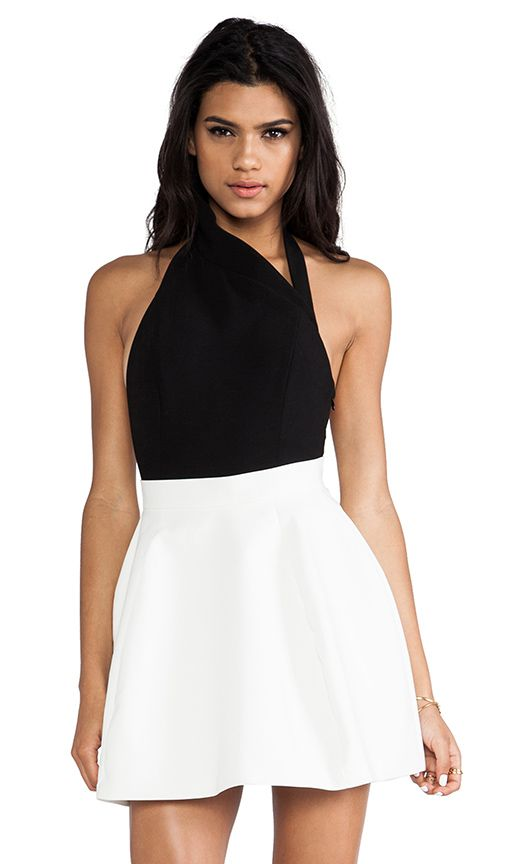Aq/aq Anna Bodysuit with Low Back in White   Lyst