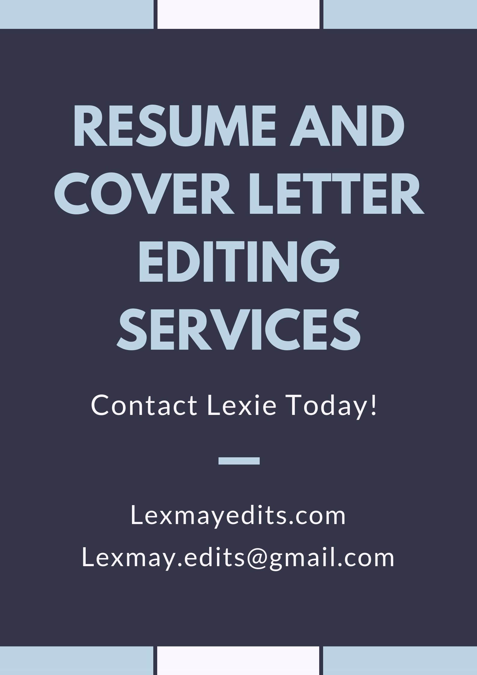 contact lexie for professional help with your resume and