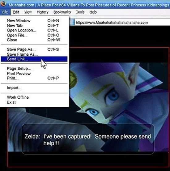 Send Link Zelda Funny Legend Of Zelda Memes Legend Of Zelda