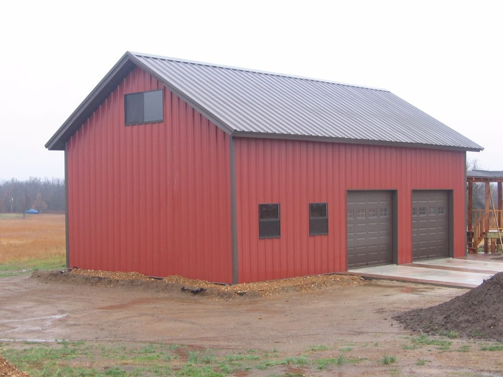Doityourself metal garage building kit in business