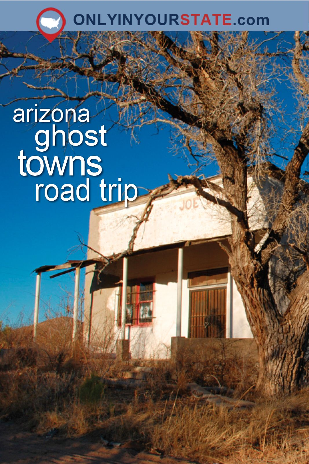 This Haunting Road Trip Through Arizona Ghost Towns Is One