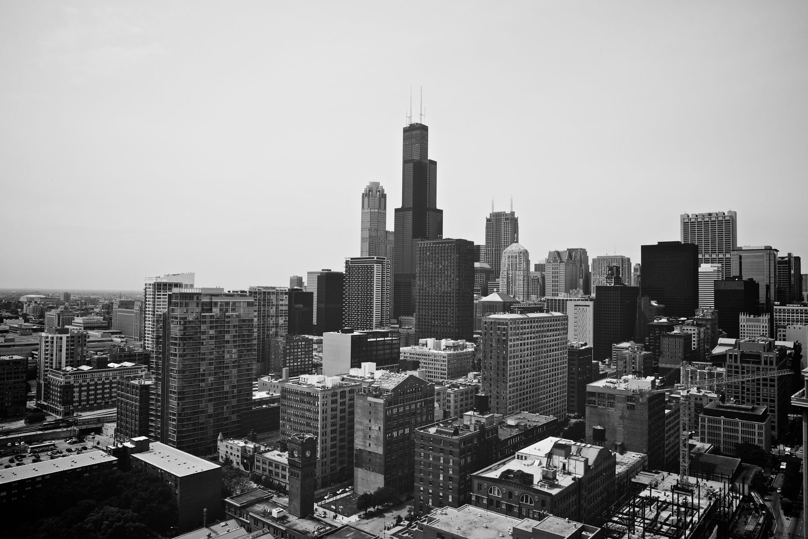 Downtown Skyline | South loop and Chicago skyline