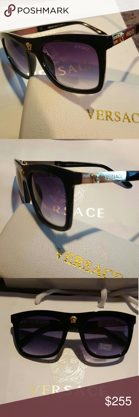 859e1b9e47674 Comes with Versace case. Tags and Accessories Brand new Versace Accessories  Sunglasses