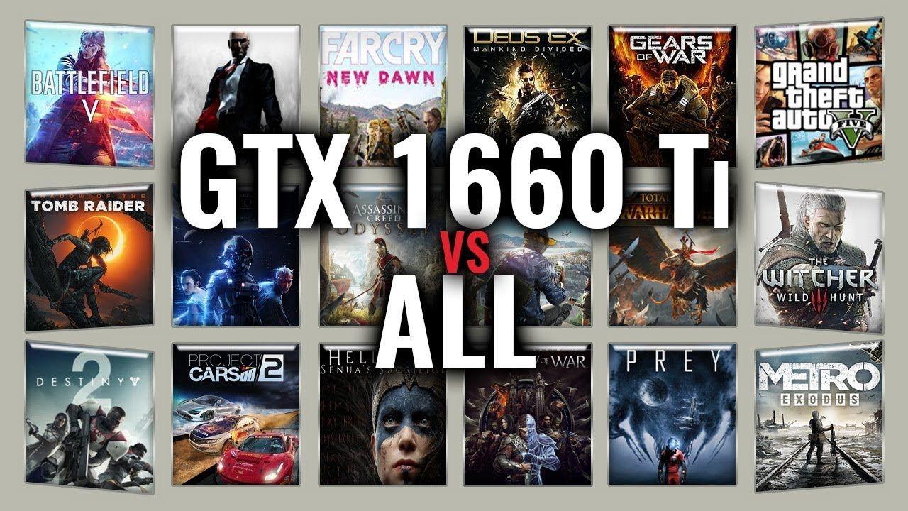 GTX 1660 Ti vs 2060/2070/2080/2080Ti/1060/1070/1080/1070Ti/1080Ti