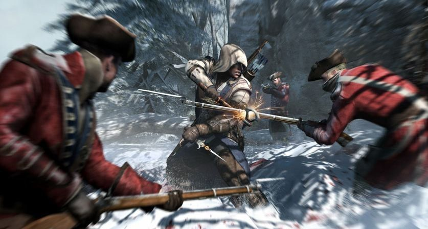 Assassin's Creed III has sold 7 million units since launch, becoming Ubisoft's fastest-selling game in history, the company announced today. The stealth-action game launched October 30 for Xbox 360 and PlayStation 3 and sold 3.5 million units during its first week.