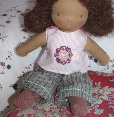 Pantalon pour poupée