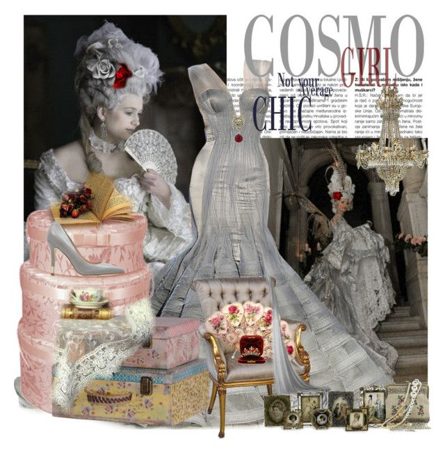 """Madam Rococo"" by paulid ❤ liked on Polyvore featuring art"