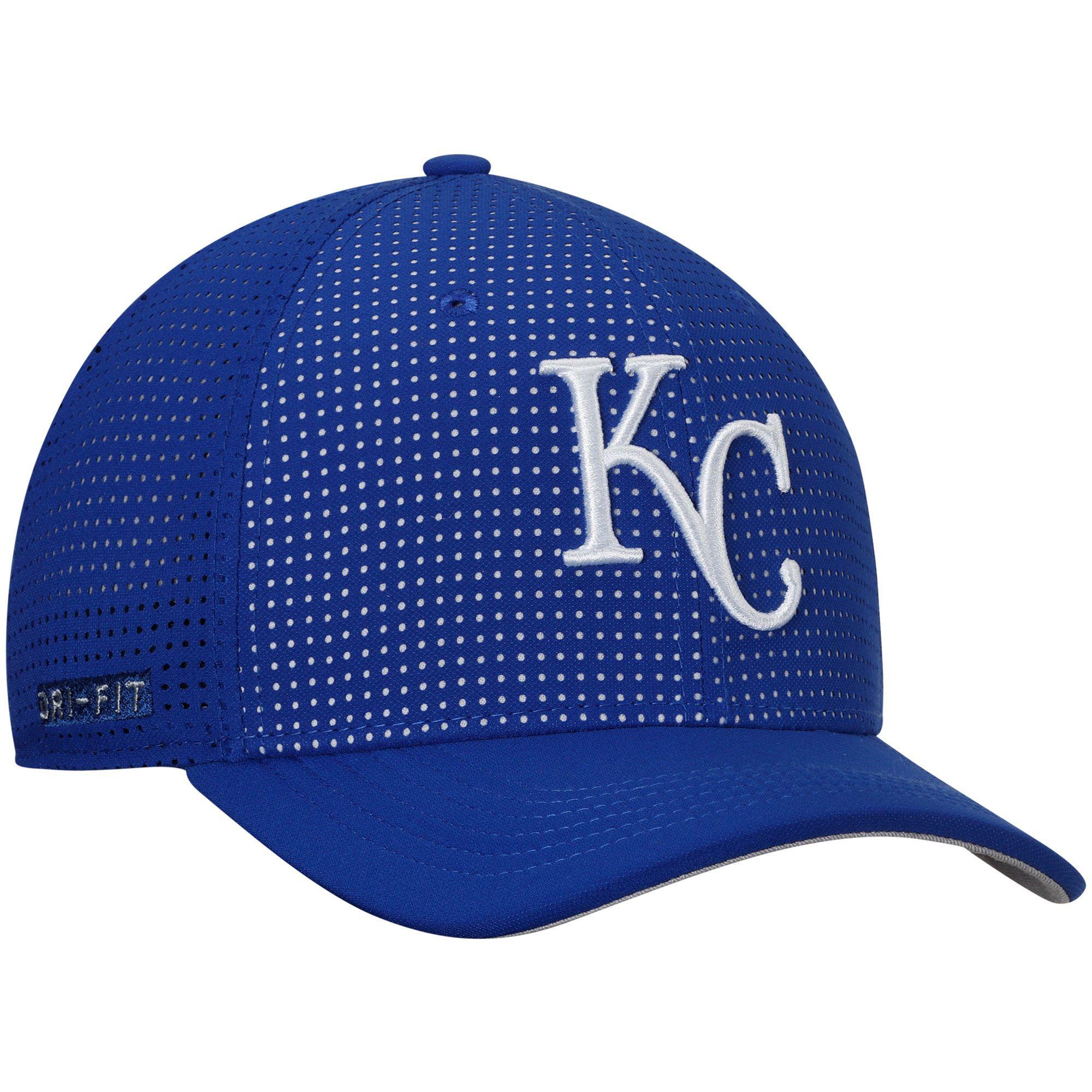 26af49fe31e38 Nike Kansas City Royals Royal AeroBill Classic 99 Performance Adjustable Hat