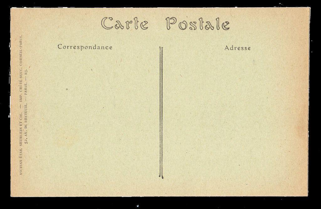 Postcard Back French Postcard Vintage Postcard Cards Against Humanity