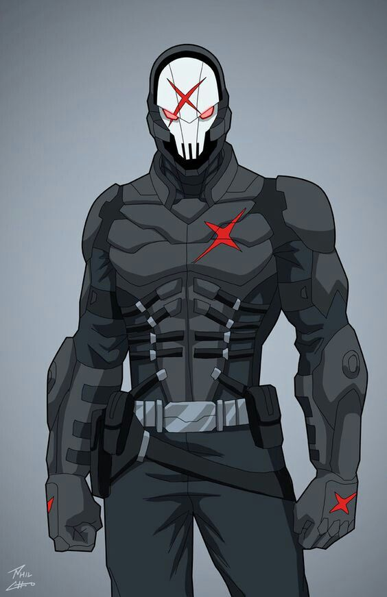 Red X. Liga de la Justicia Ilimitada. Villanos.