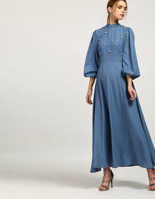 62edbd027 Blue Willie Pearl Maxi Dress -