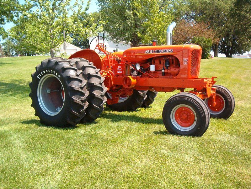 Allis chalmers wd45 pulling engine