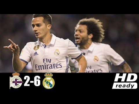 Deportivo La Coruna Vs Real Madrid 2 6 Highlights And Full Match