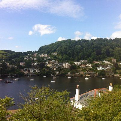 #Dartmouth #Devon. So quiet compared to city life! www.bythedart.tv
