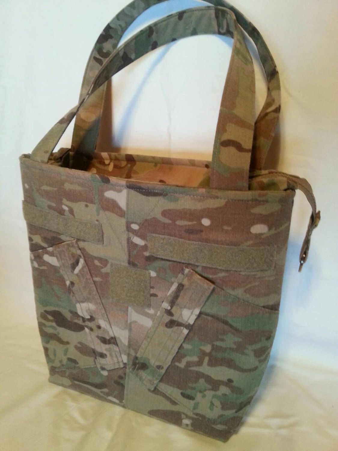 Multicam Army wife uniform purse free tags personlized your choice colors  for lining embroidery trims Army